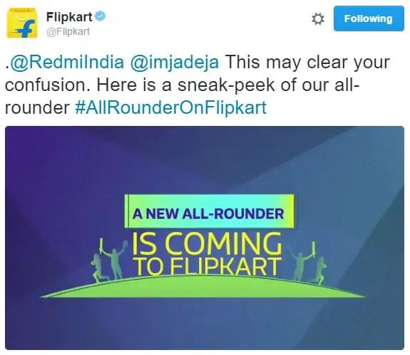 xiaomi-redmi-note-4-india-flipkart-exclusive-flipkart-tweet