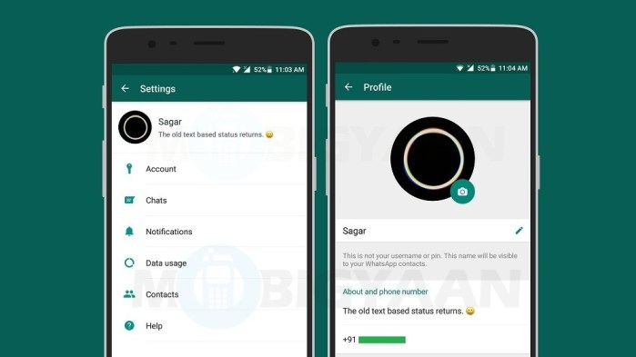 get-old-text-based-status-whatsapp-android