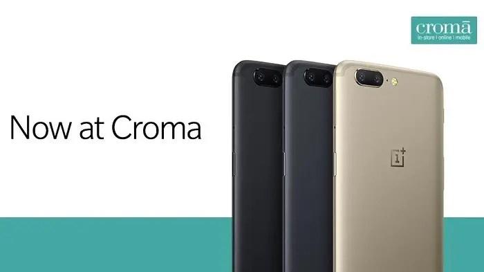 oneplus-5-india-croma-retail-store-availability