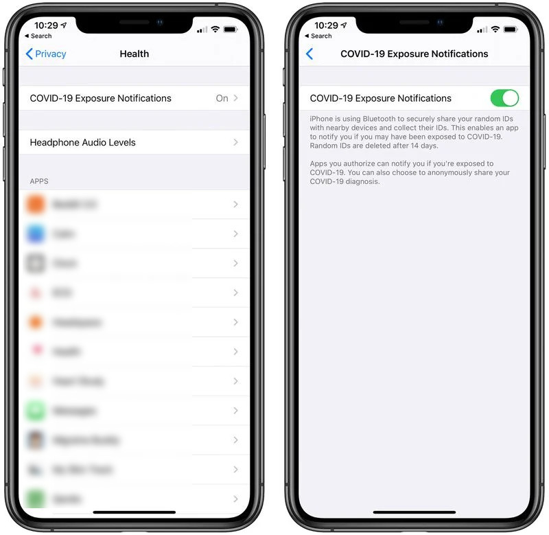 How To Activate COVID-19 Exposure Notifications On iPhone