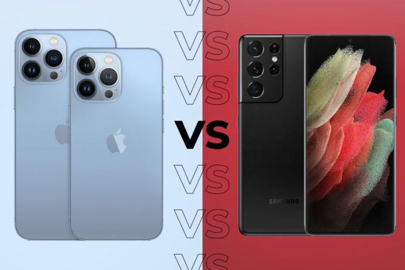 أيهما أفضل Samsung S21 Ultra أم iPhone 13 Pro Max