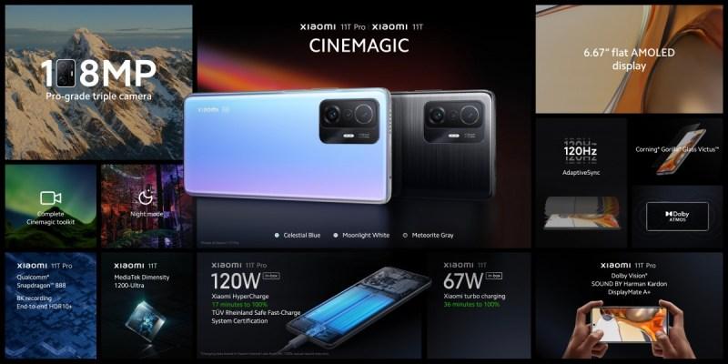 المراجعة الكاملة لمواصفات هاتف شاومي الجديد Xiaomi 11T