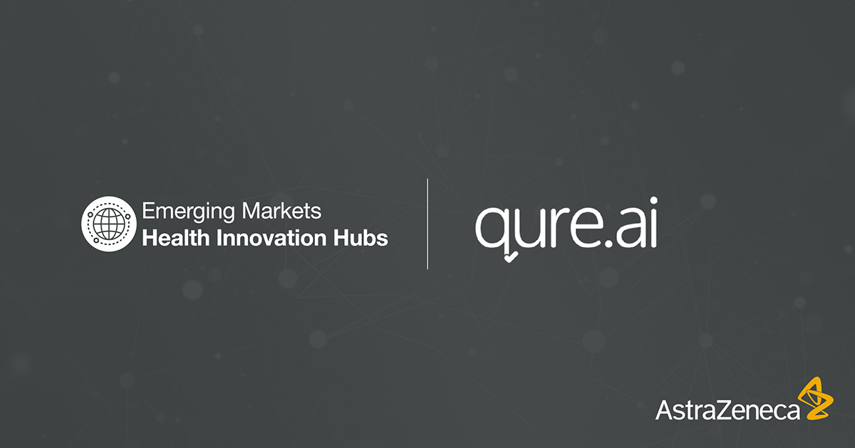 astrazeneca partners with qure ai for