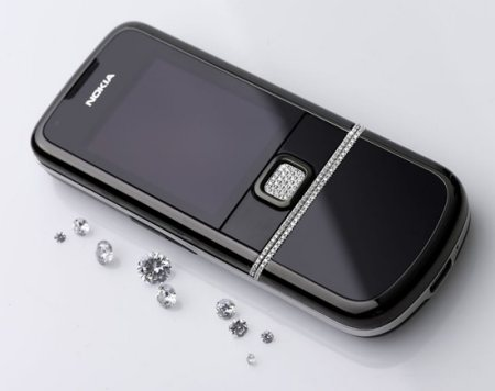 Nokia 8800 timantit