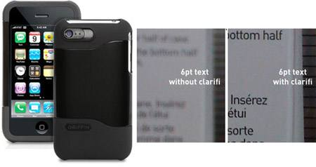 clarifi iphone 3g kotelo