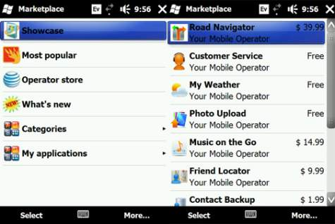 Windows Mobile Marketplace