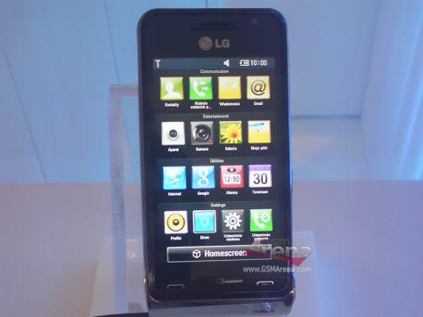 LG GC900 Louvre -konsepti