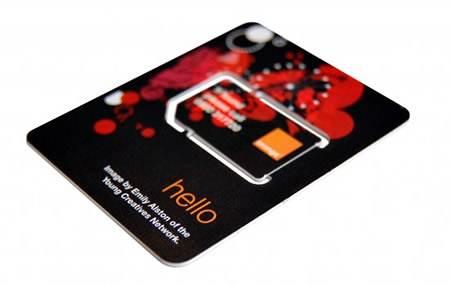 Orange Mini-SIM