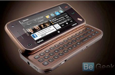Nokia N97 Mini lehdistö