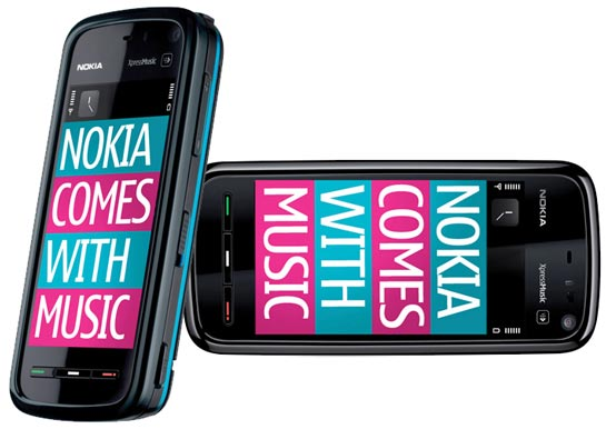 Nokia 5800 XpressMusic Comes with Music
