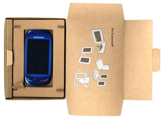 Samsung Blue Earth pakkaus