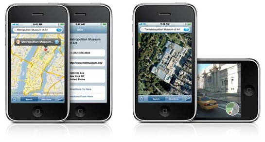 iPhone Kartat