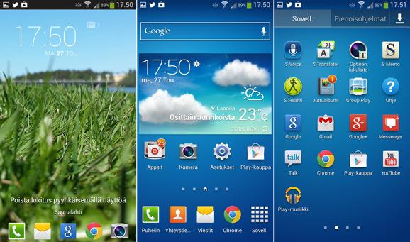 Galaxy S4 UI