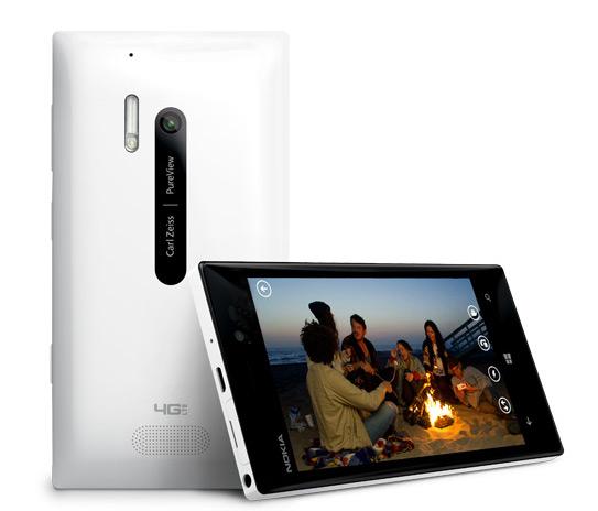 Nokia Lumia 928, valkoinen
