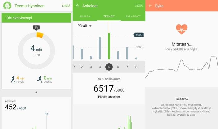 Galaxy S6 edge TouchWiz UI
