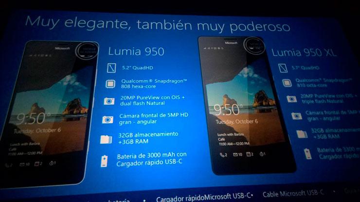 Lumia 950 XL ja Lumia 950