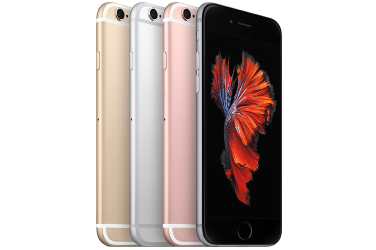 Apple iPhone 6s värjt