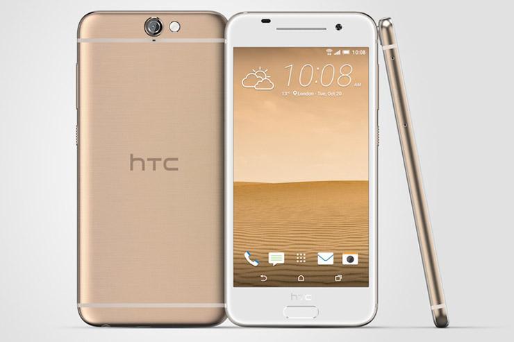HTC One A9 kultainen