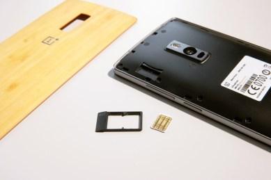 OnePlus 2, SIM-telakka