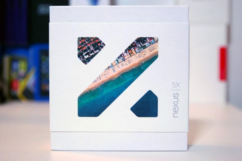 Nexus 5X, laatikko