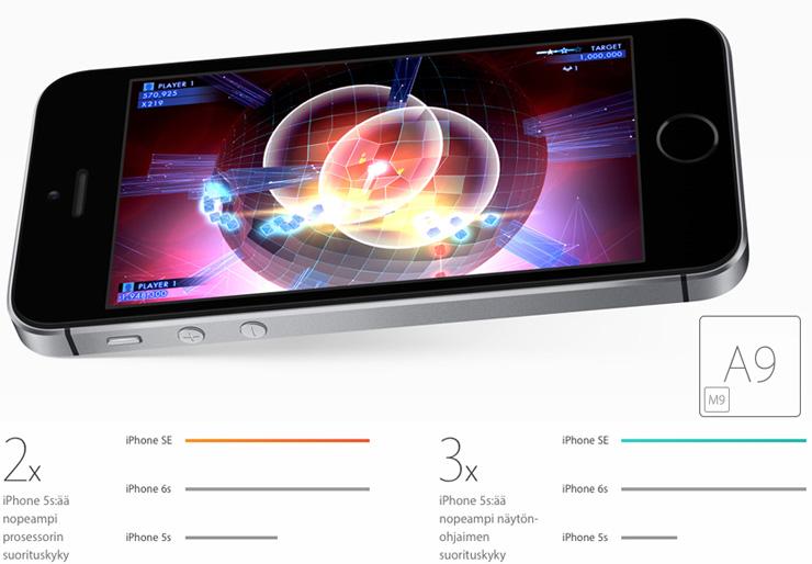 Apple iPhone SE, A9