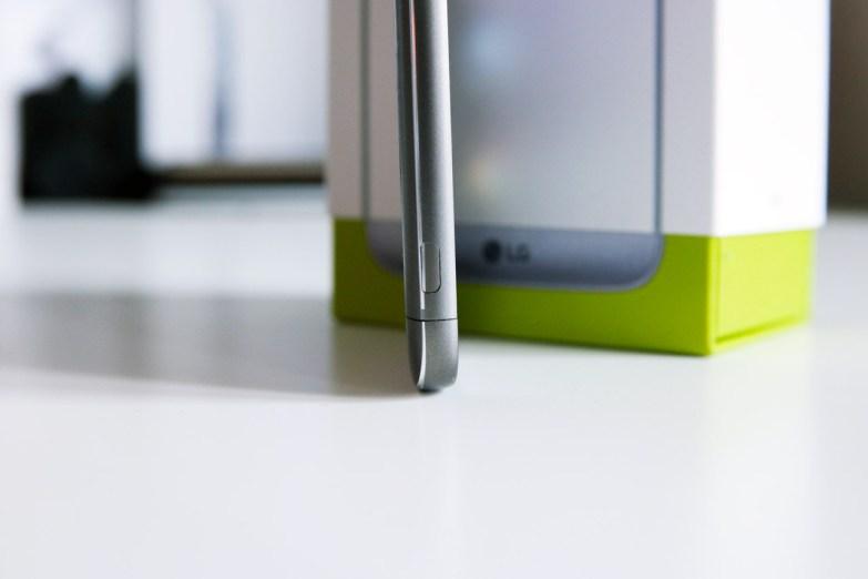 LG G5:n alaosa sivusta