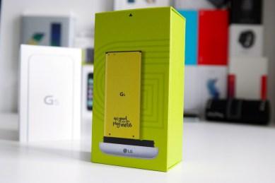 LG G5 laatikko