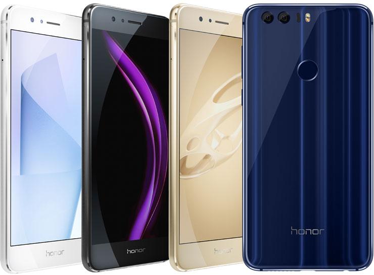 Honor 8 värit
