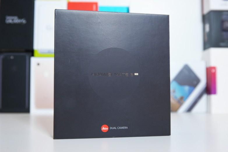 Huawei Mate 9 Pro, pakkaus.