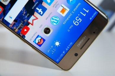 Huawei Mate 9 Pro, näyttö.