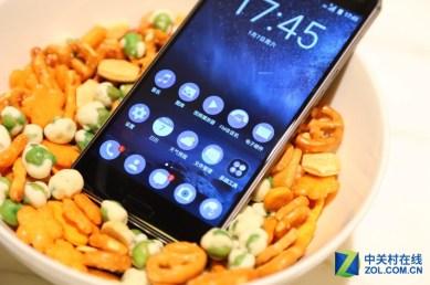 Nokia 6, kotinäkymä