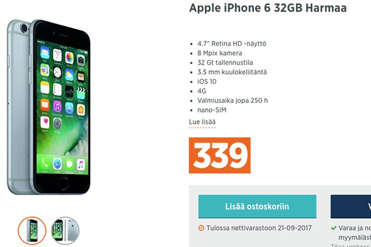iPhone 6, tarjous