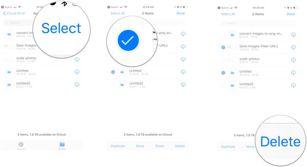 Full Guide on How to Use iCloud Drive on iPhone/iPad