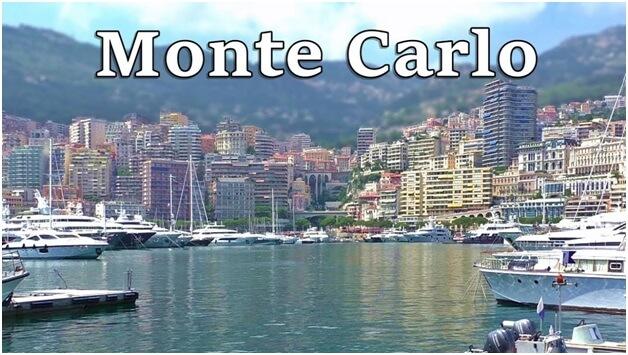 Monte Carlo Monaco är känt för natursköna landskap och kasinon