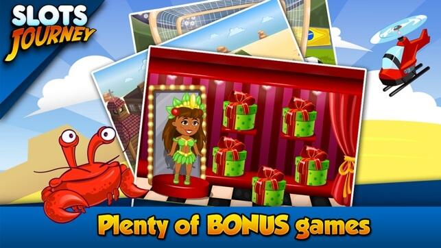 Slots Resa den gratis slots spel app för din mobil