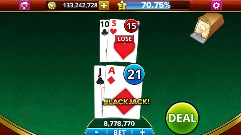 Spela på black jack direkt från din mobila enhet