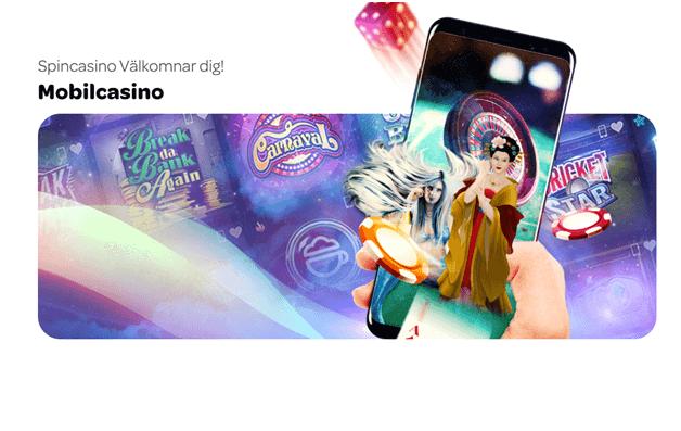 Spela underbara spelautomater, live casino eller spela sportspel direkt på spin casino med din iPhone