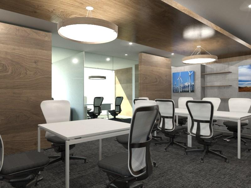 Diseo de Interiores de Oficinas  Grupo Mobilart