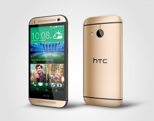 HTC One mini 2_PerLeft_Gold
