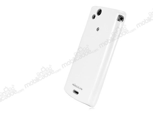 Nillkin Sony Ericsson Xperia Arc Beyaz Sert Parlak Rubber
