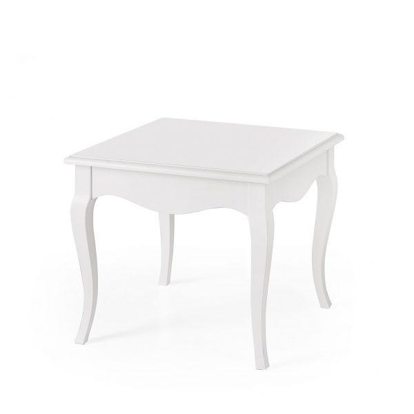 table basse carree monet en bois de style shabby chic et pour la maison les restaurantset les hotels les communautes