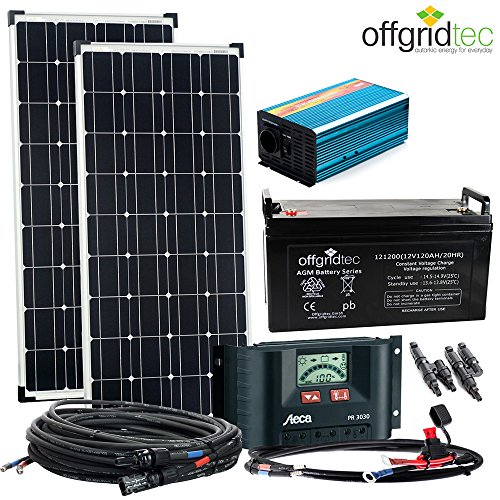 solaranlage autark m master 200w solar 1000w ac leistung. Black Bedroom Furniture Sets. Home Design Ideas