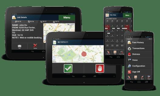 DriveLinQ Fleet Dispatch App