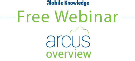Arcus Overview Webinar Registration