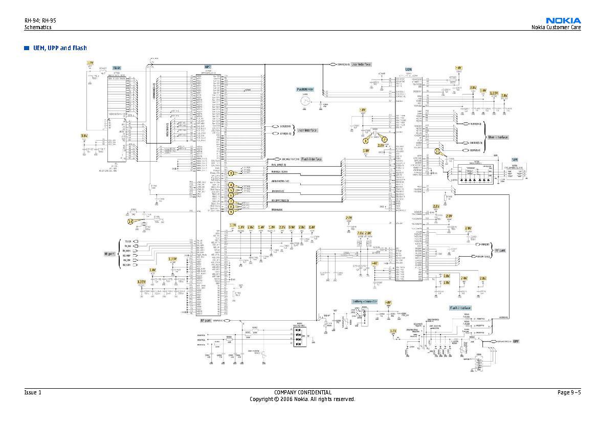 nokia 107 schematic diagram