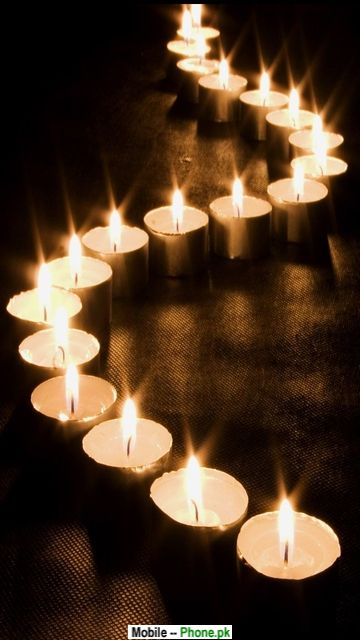 Candle wallpaper Wallpapers Mobile Pics