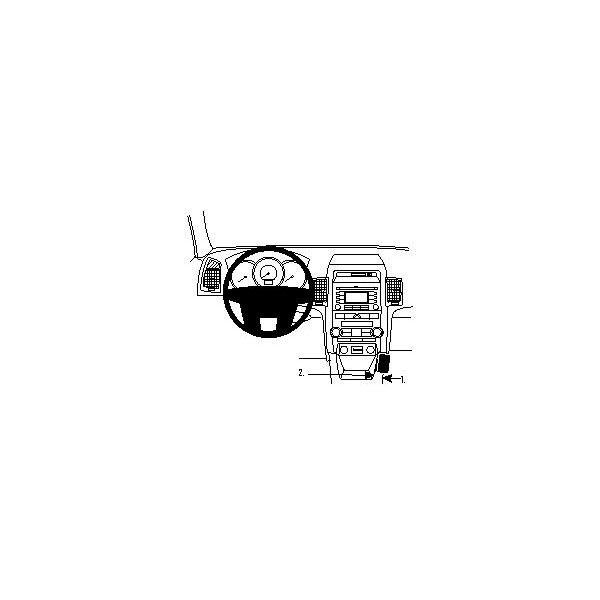 Fixation voiture Proclip pour Kia Sorento 10-12