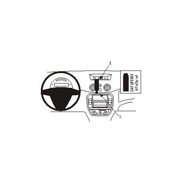 Brodit ProClip pour Citroen C2, C3, Pluriel