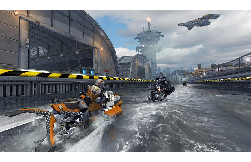 En iyi Android aksiyon oyunları Riptide GP: Renegade oyun serisi indir