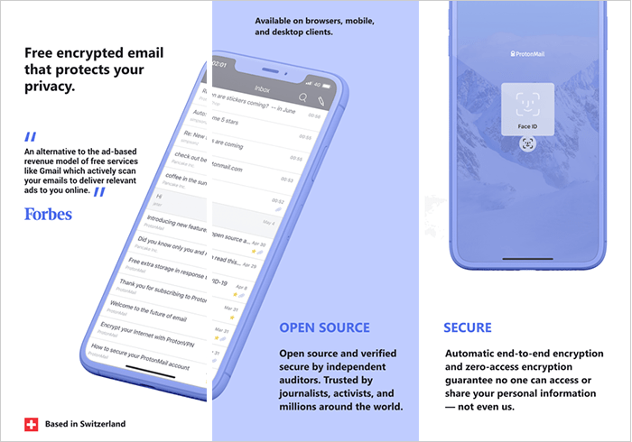 ProtonMail app for android